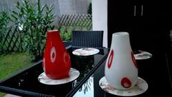 30 cm murano üveg vázák