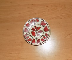 Korondi kerámia falitányér 11 cm (3p)