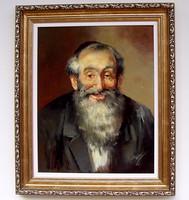 Adilov Kabul Rabbi II. portré 50x40cm