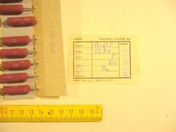 12R 12OHm 5W HUZALELLENÁLLÁS -f2- - régi alkatrész