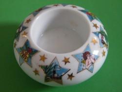Arzberg porcelán karácsonyi mécsestartó