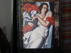 Hommage á T. Lempicka