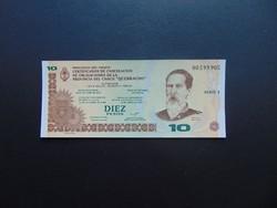 10 peso 2001 Argentína UNC !