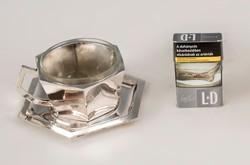 Ezüst art deco csésze