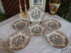 Indian Tree  mintás angol lapos tányérok