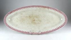 0X833 Antik Cauldon fajansz kínáló tál 60 cm