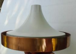 Retro, loft  fém ,függő lámpa búra