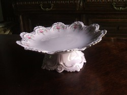 H@C  Originál   CZECH   rózsaszín   rose   porcelán  kínáló