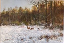 """Simon Zoltán """"kis őz rudli"""" 2015-ből, kiváló vadász ajándék"""