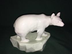 Doebrich Austrian Porcelán Jeges Medve