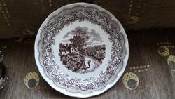 Olasz porcelán dísztányér