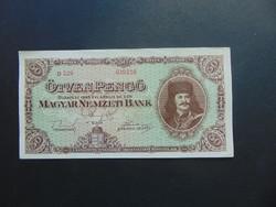 50 pengő 1945 D 029 szép ropogós bankjegy !
