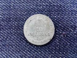 Osztrák-magyar Forint .400 ezüst 10 Krajcár 1869 KB BU/id 9352/