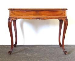 0X917 Gyönyörű neobarokk íróasztal 65 x 100 cm