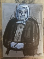 Varga Ferenc tempera/pasztell/színes grafika, festőpapír
