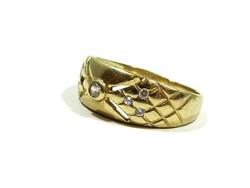 Arany gyűrű(Kecs-Au79585)