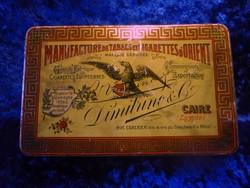 Pour les princes gyiptomi cigaretta nagy fémdoboz nagyon jó, gyűjtői állapotban. Ritka.