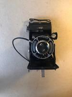 Régi harmonikás fényképezőgép