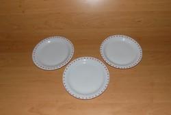 Szívecskés Apulum porcelán kistányér 3 db egyben 19,5 cm (2p)