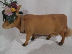 Antik - tehén - Osztrák - 23 x 14 x 6 cm -  tradícionális - szép állapot