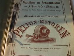 Műszaki gyűjtői katalógus 1910.