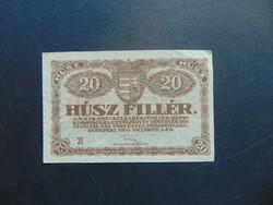 20 fillér 1920   21