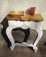 Vintage faragott konzolasztal - Rendelhető 26.000 Ft