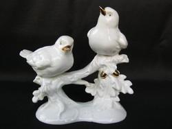 Német porcelán madár pár