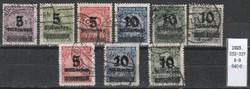 Deutshes Reich Mi. 332-337    640,00 Euro