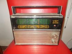 Retro szovjet  vef 206 rádió