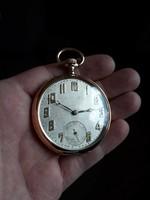 14 karátos (585) Chronometre Suisse zsebóra - nagyon ritka