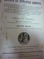 Goffine Lénart - Katolikus oktató és épületes könyve 1871.