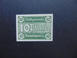 10 pfennig 1920 Hajtatlan bankjegy