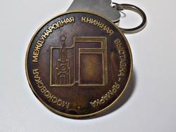 Orosz bronz plakett