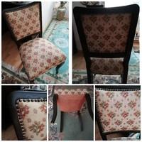 Biedermeister stílusú székek (6db)