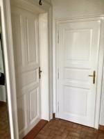 Antik kazettás tömörfa ajtó 1928-ból megkímélt szép állapotban olcsón!
