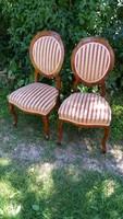 Antik biedermeier szék párban