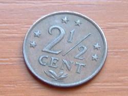 HOLLAND ANTILLÁK 2 1/2 CENT 1971  #