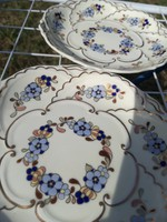 Zsolnay  porcelán búzavirág 24K arany díszítés