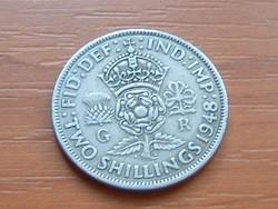 ANGOL ANGLIA 2 SHILLING 1948   #
