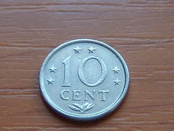 HOLLAND ANTILLÁK 10 CENT 1975   #