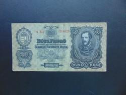 20 pengő 1930 C 310 Szép ropogós bankjegy !