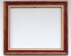 40x50cm keret bordó arany + betétes vászonhoz is alkalmas