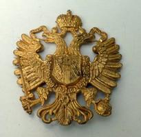 Csákó jelvény, címer Osztrák-Magyar Monarchiás