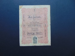 2 forint 1848 Kossuth bankó !