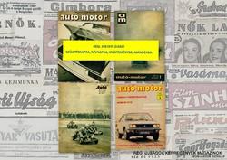 1977 szeptember  /  autó-motor  /  SZÜLETÉSNAPRA RÉGI EREDETI ÚJSÁG Szs.:  3517