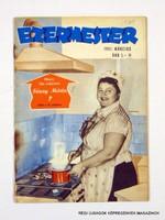 1961 január  /  EZERMESTER  /  Régi ÚJSÁGOK KÉPREGÉNYEK MAGAZINOK Szs.:  11712