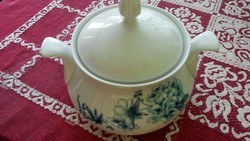 WEIMARI porcelán leveses, pörköltes tál