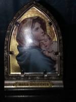 Gyönyörű Szent Kép Fém Tartójában