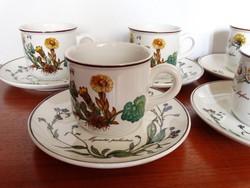 Villeroy & Boch Botanica mintájú kávéscsésze_darabonként